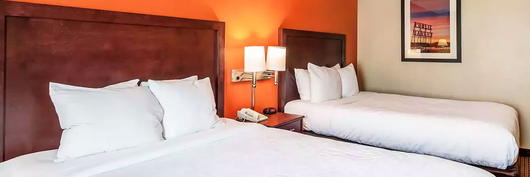 Comfortable Rooms for a Comfortable Stay in SureStay Hotel by Best Western SeaTac North